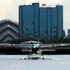 Hotel Exterior - The Seaplane lands near Crowne Plaza Glasgow