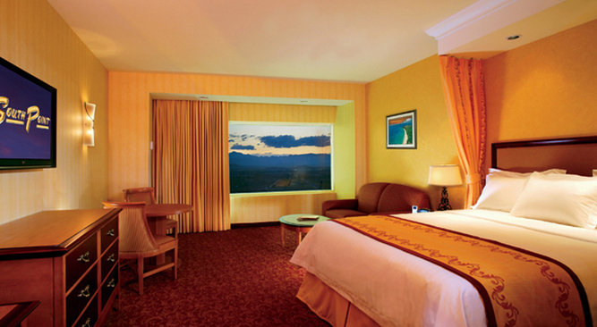 King Guest Room at South Point Hotel Casino & Spa