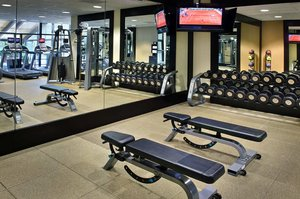 Fitness/ Exercise Room - Hilton Greenville & Towers Hotel