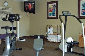Fitness/ Exercise Room - Hampton Inn Shallowford Road Chattanooga
