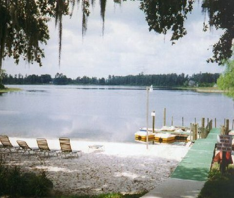 Lake at Grand Lake Resort Kissimmee