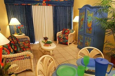 Living Area at Grand Lake Resort Kissimmee