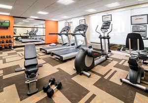 Fitness/ Exercise Room - Courtyard by Marriott Broadway Hotel Myrtle Beach