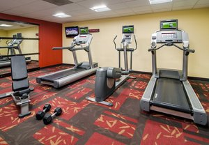 Fitness/ Exercise Room - Courtyard by Marriott Hotel Charlotte Arrowood