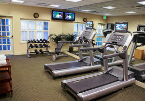 Fitness/ Exercise Room - Courtyard by Marriott Hotel Mt Pleasant