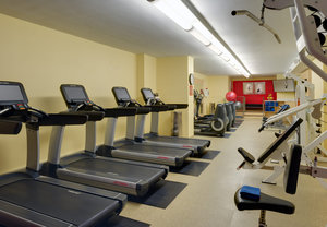 Fitness/ Exercise Room - Marriott Hotel Gaslamp Quarter San Diego