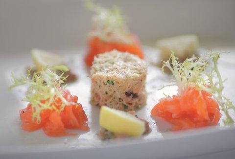 Salmon And Crab