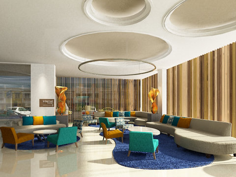 Hotel Lobby Area of Holiday Inn Express Jakarta Ci