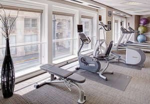 Fitness/ Exercise Room - Residence Inn by Marriott Downtown Atlanta