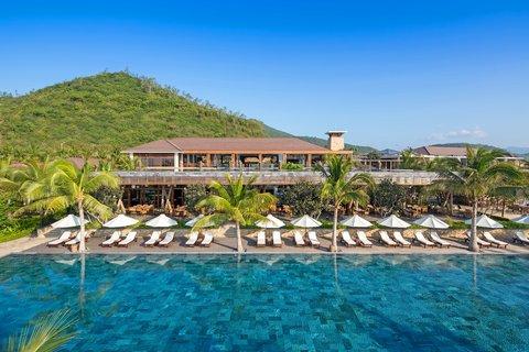 Fresh Water Pool at Amiana Resort