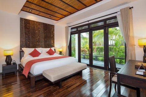 Family Villa Master Bedroom at Amiana Resort