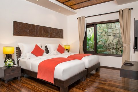 Family Villa Bedroom at Amiana Resort