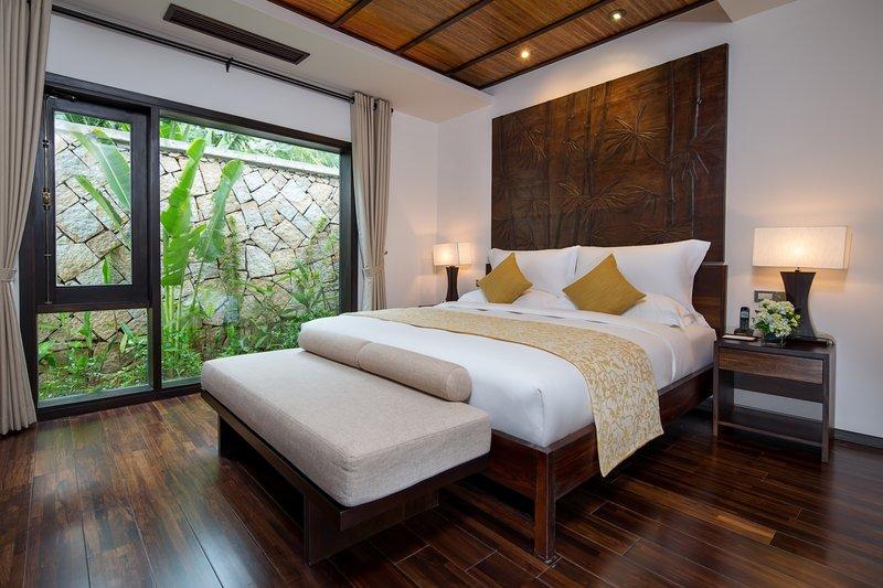 Ocean Pool Villa 2nd Bedroom at Amiana Resort