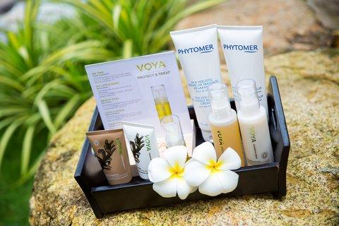 Spa Products at Amiana Resort