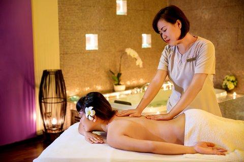 Spa Treatment Room at Amiana Resort