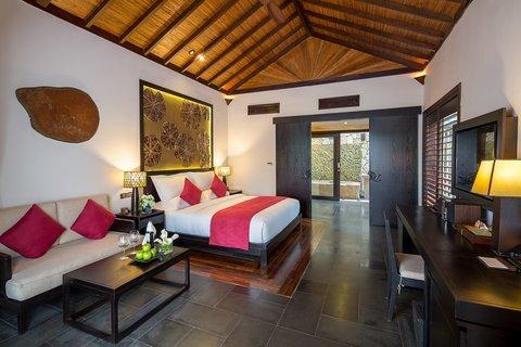 Deluxe King Bedroom at Amiana Resort