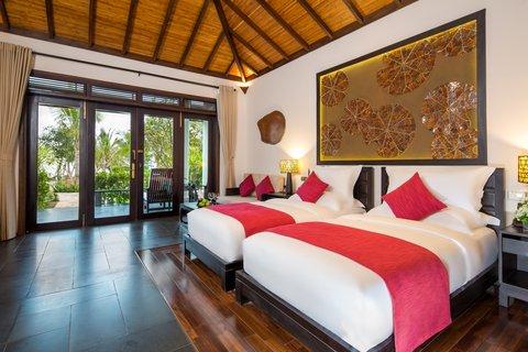 Deluxe Twin Bedroom at Amiana Resort