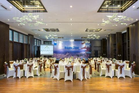 Banquet Room at Amiana Resort