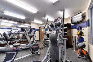 Fitness/ Exercise Room - Hampton Inn & Suites University Northwest Calgary