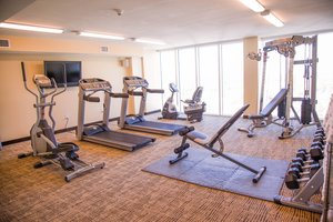 Fitness/ Exercise Room - Towers at North Myrtle Beach Resort
