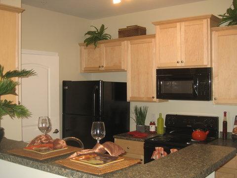 Hampton Furnished Apartment Kitchen
