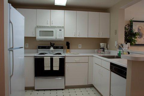Washington Furnished Apartment Kitchen