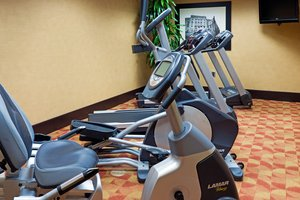 Fitness/ Exercise Room - Holiday Inn Express Hotel & Suites Fort Jackson Columbia