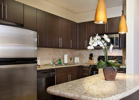 Woodland Hills Furnished Apartment Kitchen