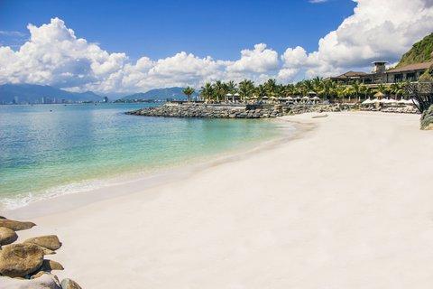 Private Beach At Amiana Resort Nha Trang