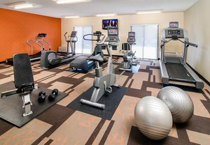 Fitness/ Exercise Room - Courtyard by Marriott Hotel Greenville