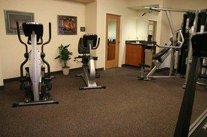 Fitness/ Exercise Room - Hampton Inn Elgin