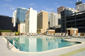 Pool - DoubleTree by Hilton Hotel Magnificent Mile Chicago