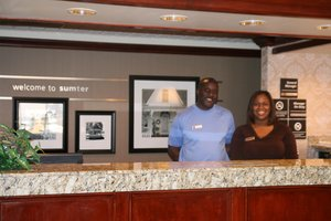 Lobby - Hampton Inn Sumter