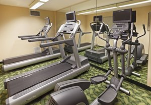 Fitness/ Exercise Room - TownePlace Suites by Marriott Forest Point Drive Charlotte