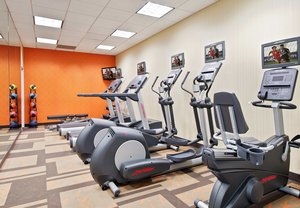 Fitness/ Exercise Room - Courtyard by Marriott Hotel Downtown Little Rock