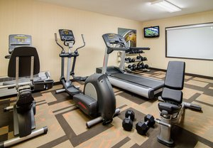 Fitness/ Exercise Room - Courtyard by Marriott Hotel Spartanburg