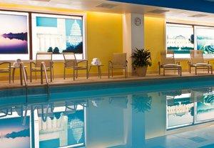 Fitness/ Exercise Room - Marriott Hotel Washington Metro Center DC