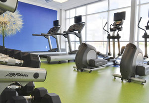 Fitness/ Exercise Room - SpringHill Suites by Marriott Baytown