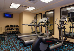 Fitness/ Exercise Room - Fairfield Inn by Marriott Hartsville