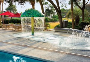 Fitness/ Exercise Room - Marriott Vacation Club Monarch Hotel Hilton Head
