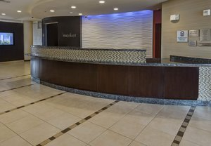 Lobby - Courtyard by Marriott Hotel Midland