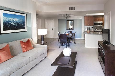 Apartment Living Space Oakwood