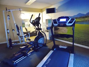 Fitness/ Exercise Room - West Bank Inn Augusta