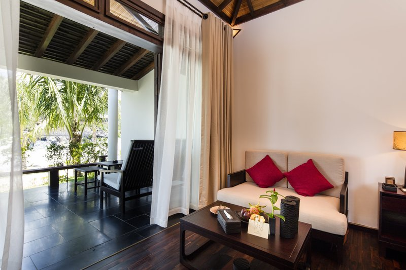 Ocean Deluxe Seating Area at Amiana Resort Nha Tra