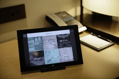 In-Room Guest Directory Tablets
