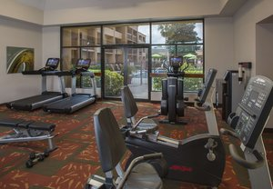 Fitness/ Exercise Room - Courtyard by Marriott Hotel Airport Orlando