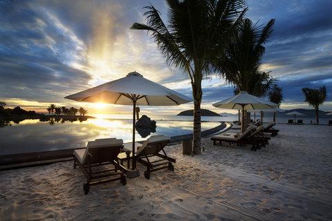 Saltwater Pool at Amiana Resort Nha Trang