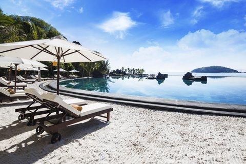 Saltwater Swimming Pool at Amiana Resort Nha Trang