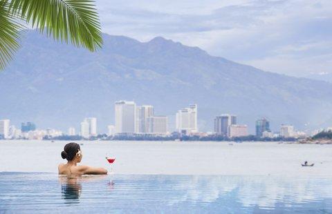 Swimming Pool View at Amiana Resort Nha Trang