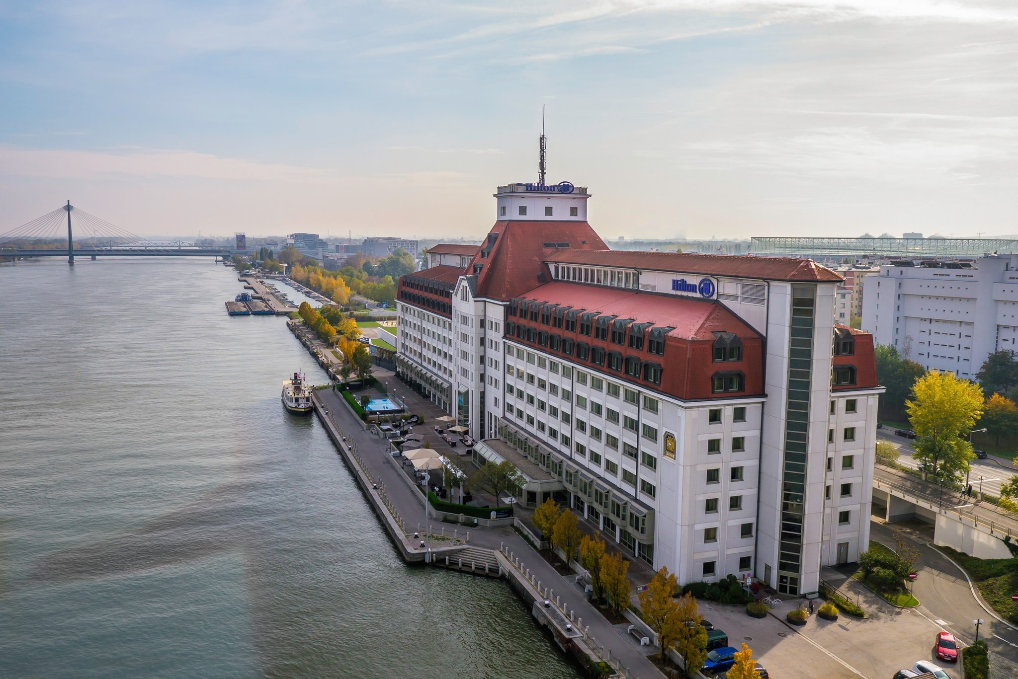 Meeting and event spaces at hilton austria hotels vienna and - Hilton Vienna Danube Waterfront Vienna Hotel
